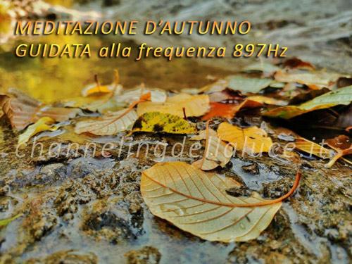 meditazione autunno guidata 897hz
